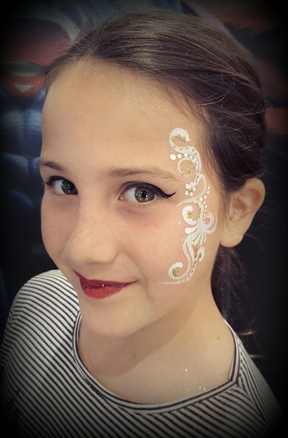 Animation maquillage enfant et face painting sur Nice Cannes et Monaco