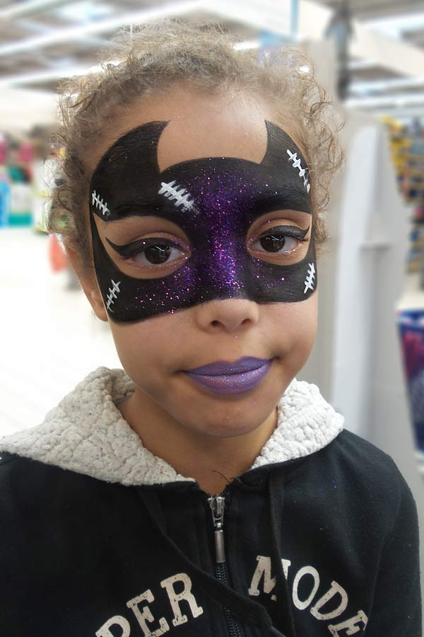 Animation maquillage enfant face painting Nice Cannes Monaco
